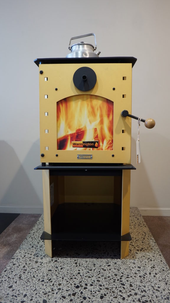Warmington Studio Series Wood Fire 13kw The Fireman