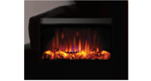 Riva2 Evoke Glass Electric Fire