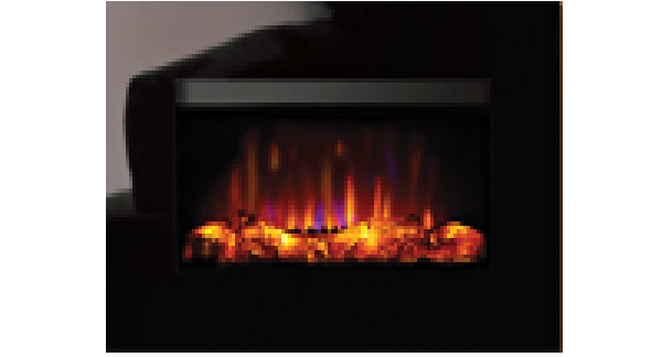 Glass Electric Fire