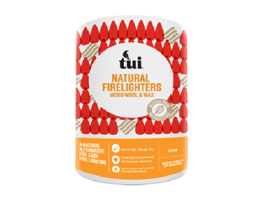 Tui natural firelighters